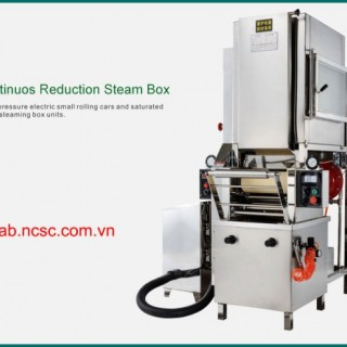 Continuous reduction steam box